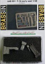 EDUARD BRASSIN 1/48 F-16 early siège avec gravé pièces # 648001