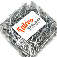 2.4mmx10mm Pop Rivets Aluminium Steel Pack of 100