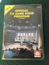 Vintage Apple IIe IIc II+ Software  T.V. Game Show JEOPARDY Share Data