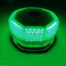 Green 240 LED Car Beacon Light Top Strobe Flashing Warning Roof Lamp