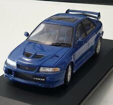 RARE 1/18 Autoart/BIANTE mitsubishi Lancer evo 6 street car RHD BLUE