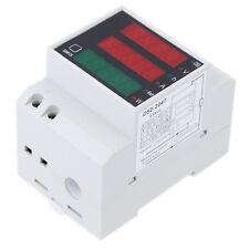 200-450V Multifunktionale Amperemeter Digitale DIN Schiene Strom Stromamper A9J1