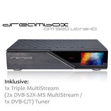 Dreambox DM920 UHD 4K E2 Linux Receiver mit 1 x Triple MultiStream Tuner