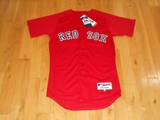 New Majestic Red DAVID PRICE BOSTON RED SOX 24 Mens Authentic MLB Team JERSEY 40