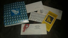 Little City - Peace Praying Hands Seals Full Sheet 1970 With Brochures Mailer