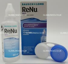 RENU Multi Purpose Solution 1 X 60ML For Contact Lenses WITH CONTACT LENS CASE