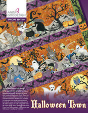 New listing Anita Goodesign Embroidery Machine Design Cd Halloween Town Special Edition