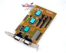 SIIG Interface Card Isa I/O 2x RS-232 Serial 1x Lpt H9MSUN6307 Irq + Hex Address