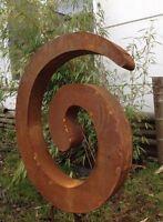 Edelrost Gartenstecker,Gartenskulptur,Rost Stecker FigureGlück Symbol,Gartendeko