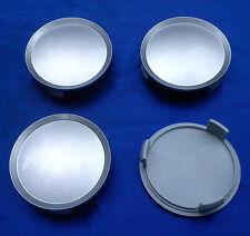 (K75) 4x silber Nabenkappen Felgendeckel 74,5 / 69,5mm für Mercedes, Artec, OZ,