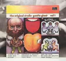 GENTLE GIANT - THE ORIGINAL STUDIO GENTLE GIANT VOL. 1 LP EX-/EX+ 1974 FONTANA
