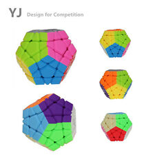 YongJun Megaminx Magic Speed Cube Puzzle Toy Game Educational Special Twist Play