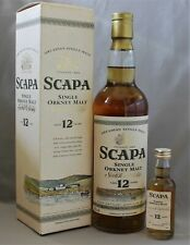 Scapa 12 years old + Mini 50ml Single Malt Scotch Whisky