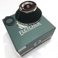 "FLETCHER CLASSIC ROVER AUSTIN MINI HS4 H4 HIF38 1.5"" CONE AIR FILTER Y3499"