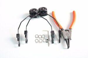 Tactical MSA SORDIN Headphone Accessories ARC Helmet Rail Adapter Sordin Bracket