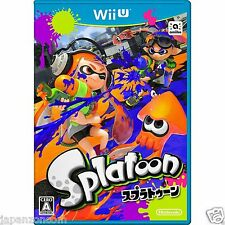 SPLATOON NINTENDO WII U JAPANESE NEW JAPANZON