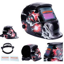 Solar Powered Auto Darkening Welding Helmet with Adjustable Shade Range 9-13