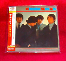 Kinks Kinda Kinks JAPAN 2 SHM MINI LP CD UICY-75027-28