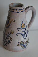 Jeanne Champillou & Azambourg Clos de Joye Ceramique 50-60 Pichet décor floral