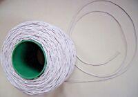 Expanderseil Planenseil Gummiseil 2mm  (Meterware) Elastisches Seil Basteln