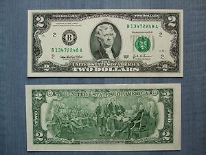 2 Dollar Note Gunstig Kaufen Ebay
