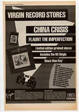 China Crisis Black Man Ray Tour Advert NME Cutting 1985