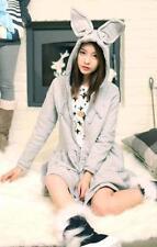 2017 Big Rabbit Ears  Harajuku Amo Lolita  Cute Sweater Hoodies Dress
