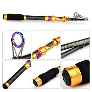 Fishing Fishing Rod Fishing Tackle For Traveling Telescopic 2.1~3.0meters