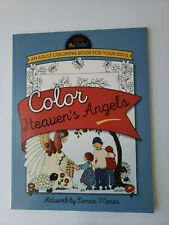 Color the Bible HEAVEN'S ANGELS, Inspirational / Christian Adult Coloring Book