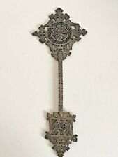 Ethiopian Coptic Brass Metal Cross Christian Orthodox African Handheld Blessing