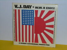 LP - V.J. FAY - W.W. II ENDS - FROM THE USS MISSOURI IN TOKYO BAY ( ENGLISCH )