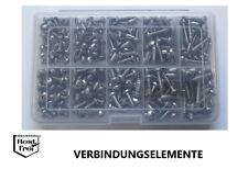 Blechschrauben Sortiment 250 Teile Linsenkopf DIN 7981 EDELSTAHL A2 Ø 4,2-4,8