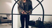 Silver Fox Fur Coat EU 40 (S/M)