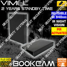 Office Security Camera Wireless Book Cam Room House Nanny Home DVR No SPY Hidden