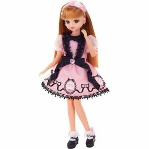 Takara Tomy Licca LD-10 Wonderful Pink Lolita Licca-chan Rika Dress up Girl Doll