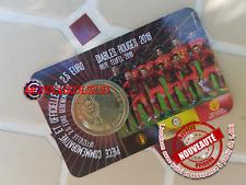 Coincard 2,50 Euro Commémorative Belgique 2018 - Diables Rouges