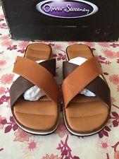 Oliver Sweeney Bradstock Crossover Leather Sandels Uk 6, US 7, Eu 40