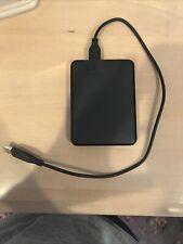 Western Digital WDBUZG0010BBK-WESN 1 TB Portable External Hard Disk - Black