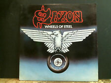 SAXON   Wheels Of Steel   LP   Great !