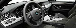BMW OEM F10 F11 F18 2011-16 5 Serie Aluminium Hexagon Interior Rand Set 9 Stücke