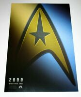 Star Trek 2008 Poster Mini One Sheet J.J. Abrams Chris Pine Zoe Saldana Quinto