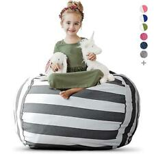 Creative Qt Stuffed Animal Storage Bean Bag Chair for Kids - Extra Large Stuff