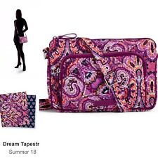 9761c9fad216 Vera Bradley Iconic RFID Little Hipster Cross Body in Dream Tapestry NWT