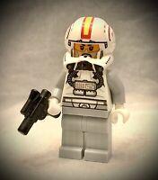 Lego STAR WARS Minifigure - Clone Pilot Set 75072 - Open Helmet Episode 3