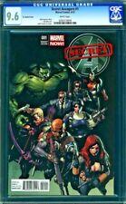 Secret Avengers #1-CGC 9.6 NM+ 1:50 Limited Leinil Francis Yu Variant Cover
