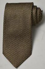 NEW Loewe Brown / Dark Brown Classic Mans Silk Tie 100% Authentic Italy Made