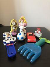 Vintage Mcdonalds Happy Meal Toys Fast Food Bundle Burger King Sonic Barbie