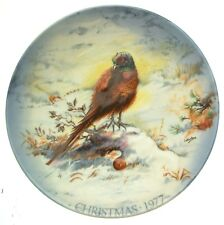 More details for crown staffordshire cock o the north plate - christmas 1977 - cp4-cd