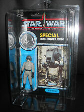 "KENNER/hasbro VINTAGE STAR WARS POTF""AT-ST DRIVER""figure TRUE MOC SEALED&CASE.84"