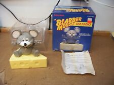NOS REALISTIC RADIO SHACK 12-908 BLABBER MOUSE AM RADIO NEW IN BOX TESTED WORKS